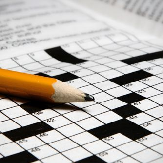 For A Sharper Brain In Old Age, Pick Up A Crossword Puzzle