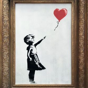 Banksy Shocks at Auction