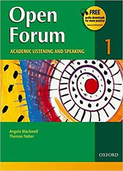 Open Forum 1: Academic Listening and Speaking