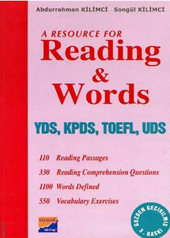 A Resource for Reading & Words Yds, Kpds, Toefl, Uds